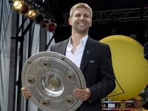 Hitzlsperger absolvierte zwischen 2004 und 2010 insgesamt 52 Spiele für die Deutsche Nationalmannschaft. (Bild: Stefan Baudy)