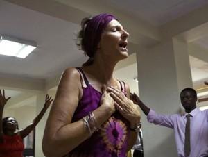 Gott habe sie von ihrer lesbischen Neigung geheilt: Die Missionarin Joanna Watson.