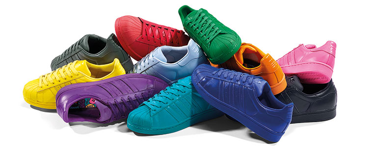 Adidas Superstar In Allen Farben