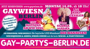 Gay Wiesn 1/7 @ Metaxa Bay | Berlin | Berlin | Deutschland