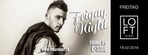 Frigay: X-Mas Edition @ The Loft Club | Luzern | Luzern | Schweiz