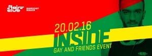 Inside: For Gays and Friends @ Stairs | Zürich | Zürich | Schweiz