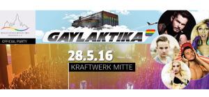 Gaylaktika 2016 @ Kraftwerk Mitte   Dresden   Sachsen   Deutschland