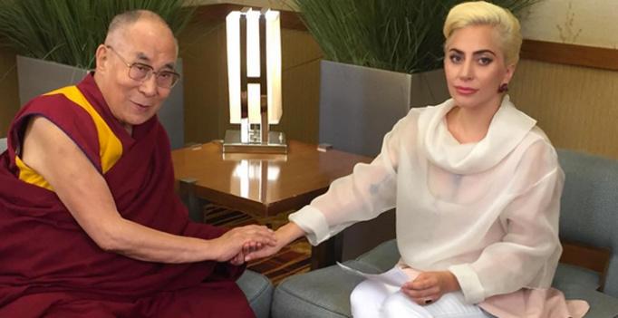 Das Treffen mit dem Dalai Lama hat chinesische Fans von Lady Gaga verärgert.(Bild: Instagram)