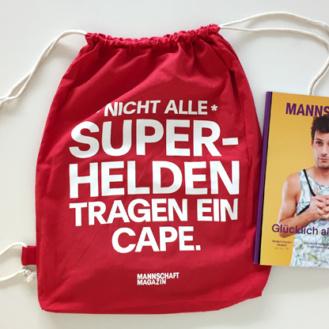 Nur solange Vorrat und nur an der Zurich Pride erhältlich: Der Goodie Bag 2016 von Mannschaft Magazin.