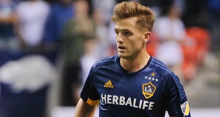Der 29-jährige Rogers, der als Verteidiger bei «LA Galaxy» spielt, gilt als der einzige offen schwule Fussballer im amerikanischen Profifussball. (Bild: LA Galaxy)