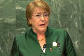 Wird dem chilenischen Parlament einen Gesetzesentwurf zur Öffnung der Ehe vorlegen: Präsidentin Michelle Bachelet. (Bild: YouTube)