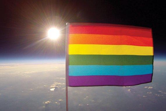 Die Organisation «Planting Peace» erklärt das Universum für LGBT-freundlich. (Bild: «Planting Peace»)