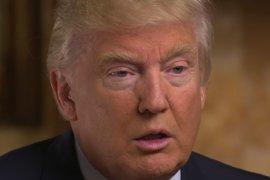 Donald Trump im TV-Interview «60 Minutes»: Die Ehe für gleichgeschlechtliche Paare soll bleiben. (Bild: CBS)