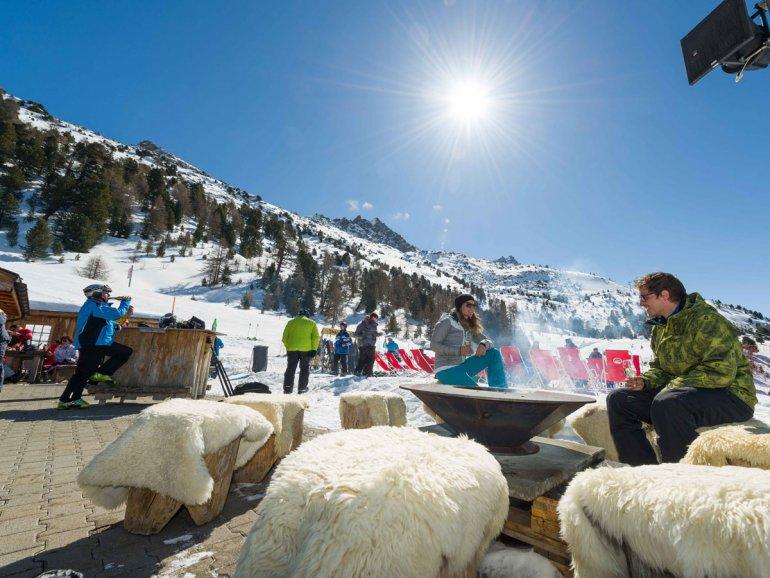 Stafelbar im Skigebiet - Mannschaft Magazin