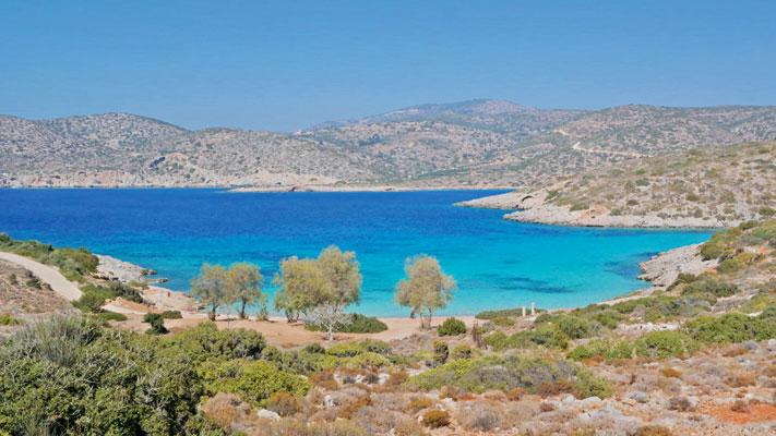 Traumhaft schön: Agia Dinami zählt zweifelsohne zu den malerischsten Buchten von Chios.