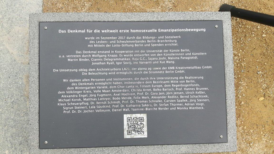 Denkmal in Berlin