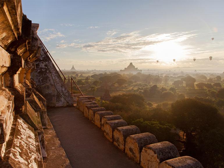 Die Pagodenlandschaft von Bagan in Myanmar. (Bild: Pink Cloud)