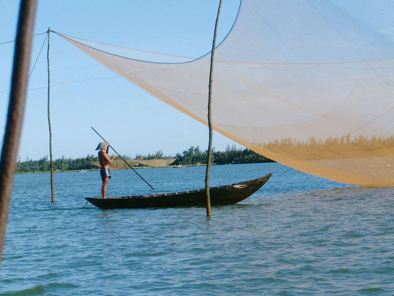 Reisende erhalten einen Einblick in den Alltag der Menschen, hier in Vietnam. (Bild: Pink Cloud)