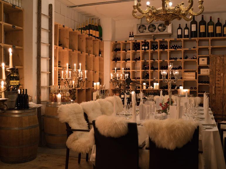 Das Terroir für Geniesser: Der Weinkeller «La Grande Cave».