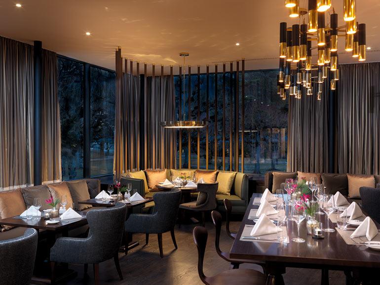 Internationale Spitzenküche im hauseigenen Restaurant «The Grand».