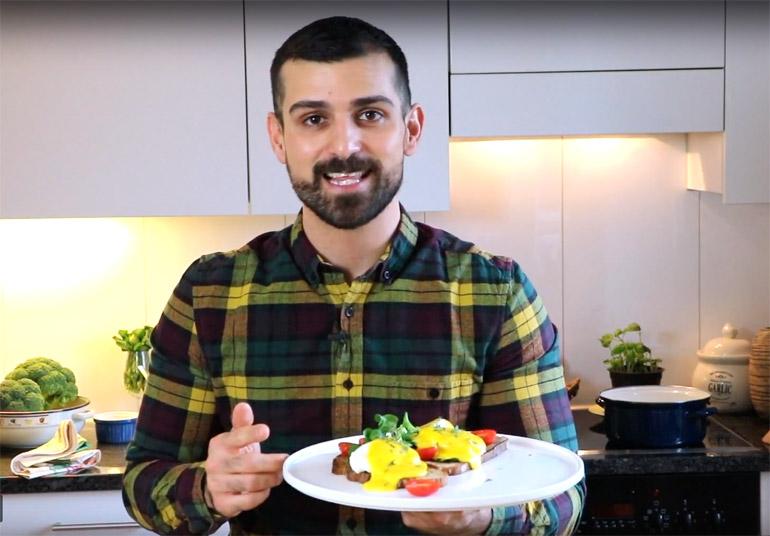 Eier benedict mannschaft magazin - Eier mittel kochen ...