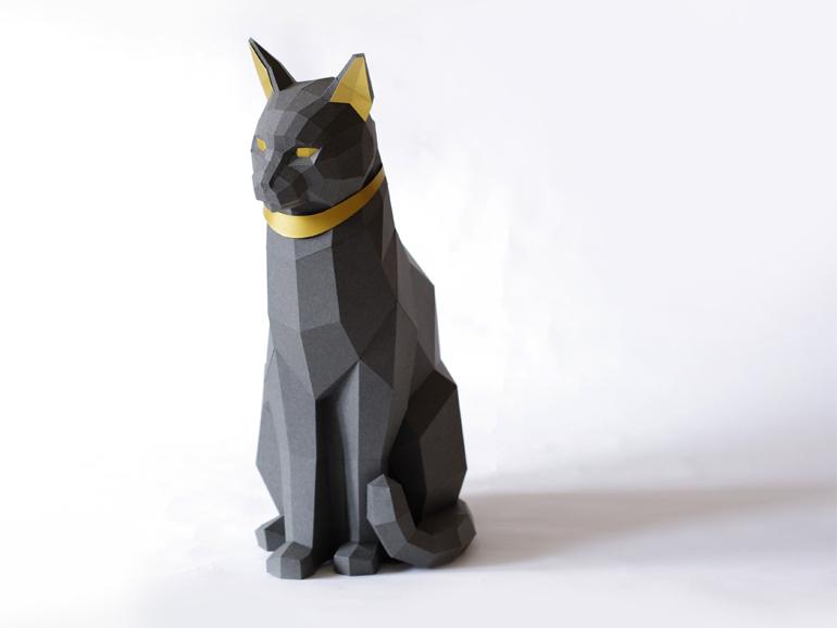 Paperwolf-Katze