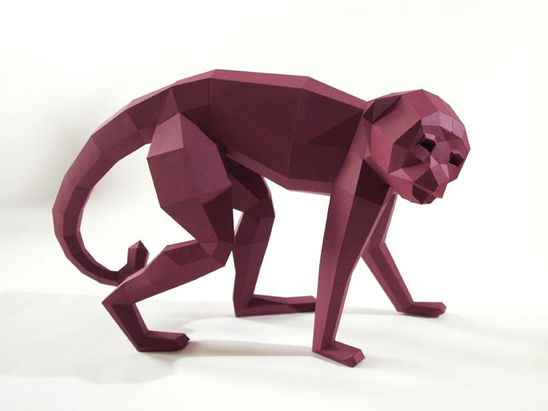 Paperwolf-affe