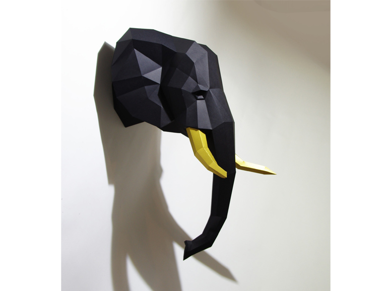 Paperwolf-elefant