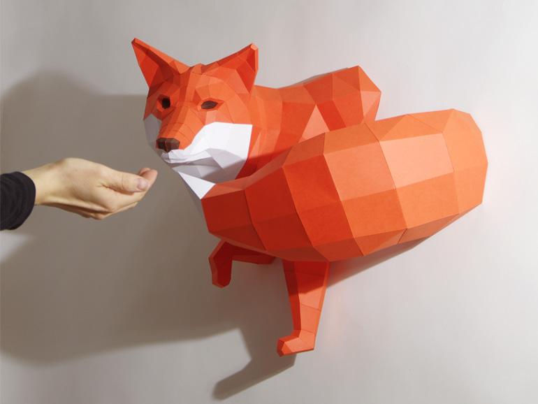 Paperwolf-fuchs
